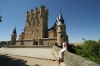 "Alcazar castle - 11th to 19th century.  Walt Disney's ""Sleeping Beauty"" castle. ES"