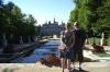 Bruce & Thea in the Jardines del Palacio del la Granja. ES