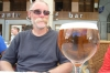 Lunch in Segovia ES - Spanish beer for Bruce.