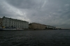 Sky and palaces in St Petersburg. RU
