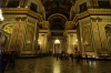 Interior of St Isaac's Cathedral. St Petersburg RU