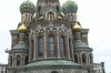 Church of Spilled Blood, now restored, was used as a potato warehouse during the soviet period. St Petersburg RU