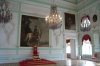 Peterhof Palace throne room. St Petersburg RU