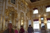 Peterhof Palace ball room. St Petersburg RU