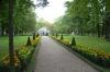 Peterhof Palace gardens. St Petersburg RU