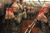 Millions of us in the lift at Novum Hotel Rega, Stuttgart DE