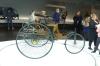 Karl Benz 3-wheeled vehicle (1886). Mercedes Benz Museum, Stuttgart DE