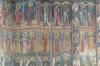 Saints, Moldovita Monastery dedicated to the Annunciation, Vatra Moldovitei, 16thC, blues & yellows