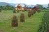 Haystacks near Voronet Monastey, Gura Humorului
