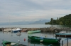 Port of Yvoire, looking east (grand lac), on Lac Léman