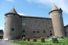 Castle at Morges on Lac Leman CH
