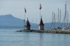The waterfront on Forges on Lac Leman CH