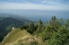 Jura Massif (the balcony) and Lac Leman on the French side