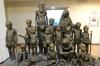 Bronze statues by Ahad Hosseini. Azarbayjan Museum, Tabriz