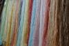 Silk for carpets. Tabriz Bazaar