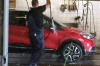 Washing the Renault Captur in Tartu EE
