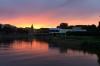 Sunset in Tartu EE