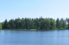Lake Viitina, just over the border into Estonia