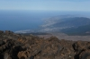 View to Puerto de la Cruz from El Teide