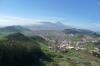 Looking west towards El Tiede and the La Lugana valley from Jardine Viewpoint, Anaga, Tenerife ES