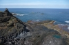 Pools created by lava flow from 18thC eruption, in Garachio, Tenerife ES