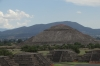 Piramide del Sol, from Avenue of Death,  Teotihuacan