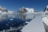 Travelling through the Lemaire Channel, Antarctica