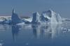 Icebergs in Pléneau Bay, Antarctica