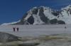 Climb to Charcot's cairn in Pléneau Bay, Antarctica