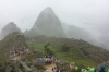 A wet day in Machu Picchu PE