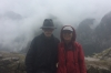 Bruce & Thea. A wet day in Machu Picchu PE