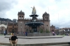 The fountain to the indigenous history of Cusco PE
