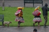 Indigenous women with baby goats, lambs, llamas - photo ready, Plaza de Armas (Armoury), Cusco PE