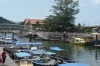 The marina in Tekek, Tioman Island
