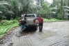 "Bruce and our driver and ""new"" 4x4 to Juara, Tioman Island MY"