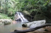 Water fall between Juara and Tekek, Tioman Island