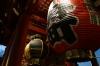 Giant lantern at the Sensoji Temple, Asakusa, Tokyo, Japan