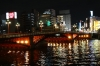 Sumidagawa River in Asakusa, Tokyo, Japan