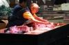Tsukiji Market, wholesale market specialising in fish, Tokyo, Japan