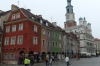 Colourful houses in Old Market Square. Poznań PL