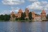 Trakai Island Castle on Galve Lake, LT