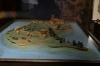 Model of Trakai Island Castle on Galve Lake, LT