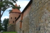 Outside walls of Trakai Island Castle, LT