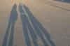 Thea, Hayden, Pepe & Bruce in Piazza Dell'Unita D'Italia, Trieste