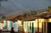 Colourful houses. Trinidad, Cuba