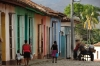 Coloured houses. Trinidad, Cuba