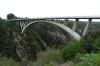 Paul Sauer Bridge on the N2 at Storm River, South Africa