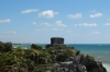 Archaeological ruins of Tulum called Zama