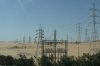 Power provided by the Aswan High Dam Hydroelectric project