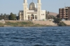 Faluka ride on the Nile at Aswan - Islamic mosque
